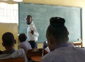 Berthony teaching